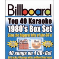 Sybersound - Billboard Top 40 Karaoke: 1980s (4CD)