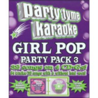Sybersound - Party Tyme Karaoke: Girl Pop Party Pack 3 (4 Disc Box Set)