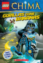 LEGO Legends of Chima: Gorillas Gone Bananas (Chapter Book #3)