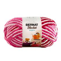 Bernat Blanket Brights Yarn Raspberry Ribbon Varg
