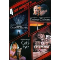 4 Film Favorites: Stephen King: Dreamcatcher / Dolores Claiborne / Cat's Eye / Creepshow