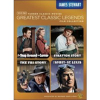 TCM Greatest Classic Legends Film Collection: James Stewart: The Shop Around The Corner / The Stratton Story / The Spirit Of St. Louis / The FBI Story