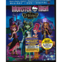 Monster High: 13 Souhaits (Blu-ray + DVD + Digital Copy + UltraViolet) (Bilingue)