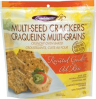 Crunchmaster Multi-Seed Crackers, Roasted Garlic