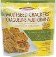 Crunchmaster Multi-Seed Crackers, Rosemary & Olive Oil