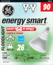PAR38 energy smart® GE 26 W – paquet de 1