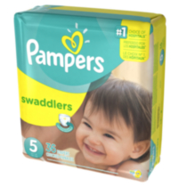 Pampers Couches Swaddlers format Méga Taille 5