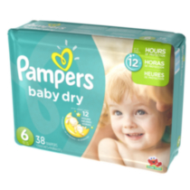 Pampers Baby Dry Diapers Mega Pack Size 6