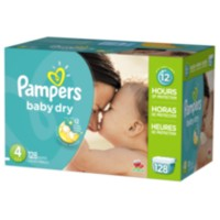 Pampers Baby Dry Diapers Giant Pack Size 4