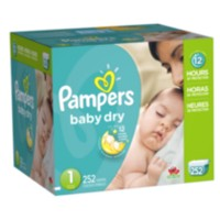 Pampers Baby Dry Diapers Economy Pack Plus Size 1