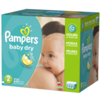 Pampers Baby Dry Diapers Economy Pack Plus Size 2