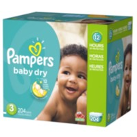 Pampers Baby Dry Diapers Economy Pack Plus Size 3