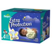 Pampers Extra Protection Diapers Super Pack Size 4