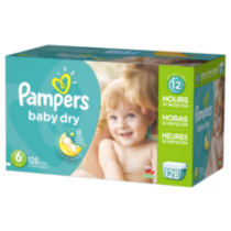 Pampers Baby Dry Diapers Economy Pack Plus Size 6