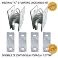 MULTINAUTIC Floating Dock Hinge Kit
