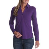 Riders by Lee Women's Long Sleeve Knit Shirt XL