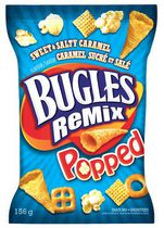 Bugles Sweet & Salty Caramel Remix Popped Snack Mix Chips