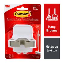 Command™ Damage-Free Hanging Broom Gripper