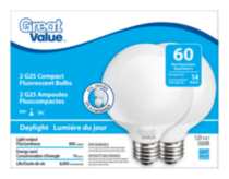 Great Value CFL Globe