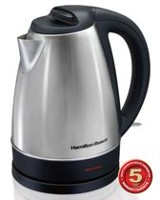 Hamilton Beach 1.7 L Cordless Stainless Steel Kettle