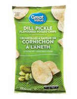 Great Value Dill Pickle Flavoured Potato Chips