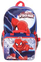 Spiderman Backpack with Lunch Kit Combo