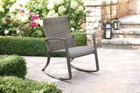 hometrends Wicker Rocker Chair
