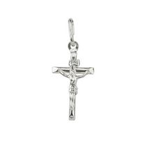 Breloque crucifix en argent sterling