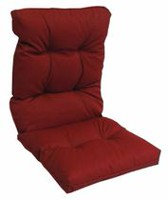 hometrends Dahalia Red High Back Cushion