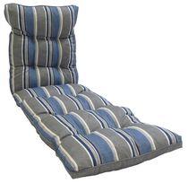 Hometrends Grey Stripe Reversible Lounge Cushion