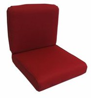 hometrends Dahalia Red Deep Seat Cushion