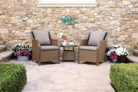 hometrends Devon 3-Piece Chat Set