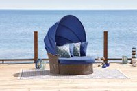 hometrends Tuscany 2-Piece Day Bed Set Blue