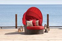 hometrends Tuscany 2 Piece Day Bed Red