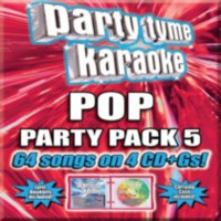 Sybersound - Party Tyme Karaoke: Pop Party Pack 5 (4CD)