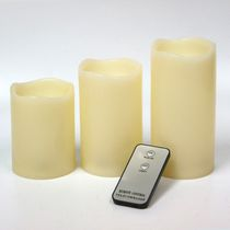 hometrends 3 Pack LED Candle with Remote