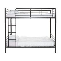 Twin over Twin Bunk Bed - Black