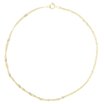 10K Yellow Gold Anklet