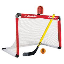 Ensemble de hockey de rue but, bâton, balle lumineux LNH de Franklin Sports