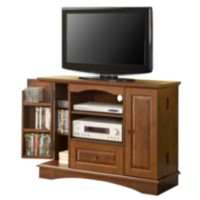 "42"" Brown Highboy Style TV Stand"