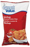 Great Value Ketchup Flavoured Potato Chips