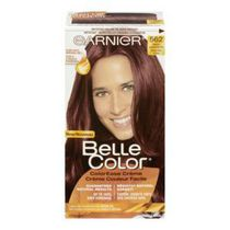 Coloration permanente Crème couleur facile pour cheveux Belle Color de Garnier 562 Natural Opalescent Red