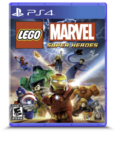 LEGO MARVEL: Super Heroes (PS4 Game)