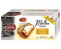 Dare Foods Boulangerie Grissol Whole Wheat with Honey Melba Toast