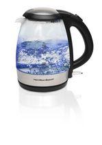 Hamilton Beach 1.2 L Compact Glass Kettle 40931C
