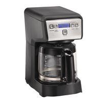 Hamilton Beach 12 Cup Compact Programmable Coffee Maker 46200C