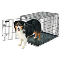 "Petmate Doskocil 36"" Large Wire Crate Dog Kennel"