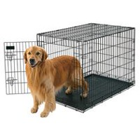 "Petmate Doskocil 42"" Extra Large Wire Crate Dog Kennel"