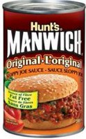 Sauce Sloppy Joe originale ManwichMD de Hunt'sMD MD