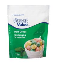 Great Value Mint Drops Candy